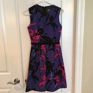 EUC Taylor fit and flare dress, size 2